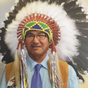 Chief Leo Friday – photo Bishop Tom Corston